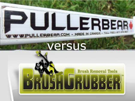 Pullerbear compared to Brush Grubber